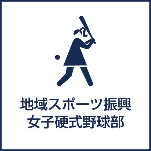 地域スポーツ振興 女子硬式野球部