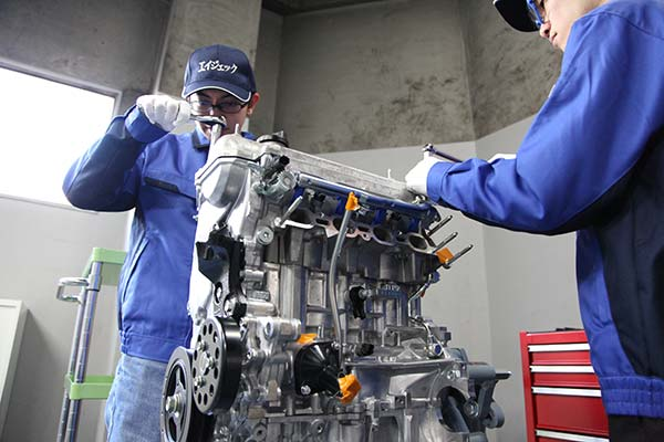 エンジン開発(適合)コースのイメージ