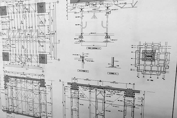 建築設計・施工図イメージ画像