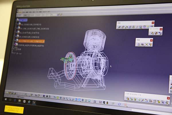 3D CADコースのイメージ