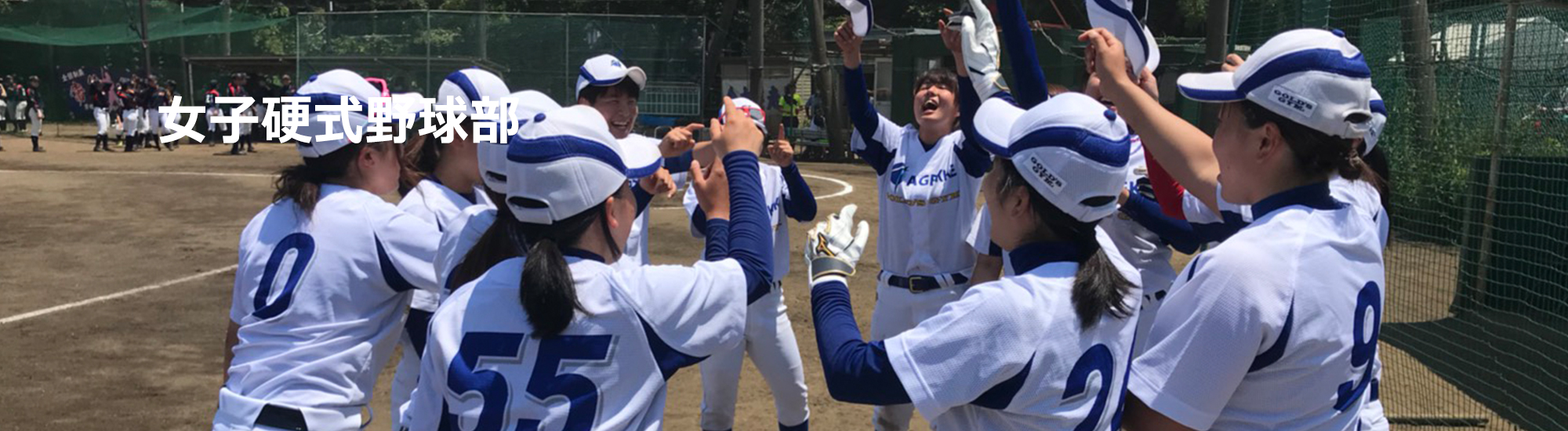 女子硬式野球部