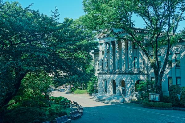 「間島記念館」画像提供:青山学院大学