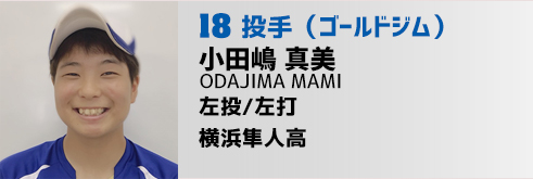 18番 小田嶋投手(GG)